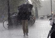 Cod galben de ploi in Bucuresti si in 23 de judete, valabil pana marti seara