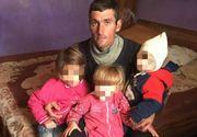 """Trei copii din Dolj au fost abandonaţi de mamă pentru un bărbat cunoscut pe Facebook. """"Plâng de când a plecat"""". Tatăl copiilor abia mai are putere să vorbească, însă îşi imploră soţia să se întoarcă"""