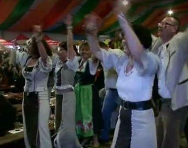 Distractie mare in centrul Sibiului. A inceput Cibinfest. Cum au petrecut oamenii in...