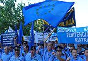 Angajatii din toate penitenciarele din tara anunta proteste incepand de luni