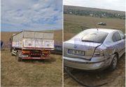 Incident socant in Botosani. Primarul unei localitati a incercat sa calce un barbat cu un camion. Ce l-a facut pe edil sa recurga la acest gest violent