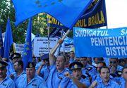 Angajatii din Penitenciare ameninta cu proteste in toata tara incepand de luni