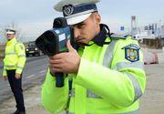 Politistii de la rutiera au surprins un tanar de 18 ani ruland cu o viteza naucitoare pe autostrada. Ce viteza avea. E record in Romania
