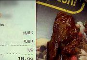 Carne de vita cu sos si VIERMI. Patania unui brasovean care avea pofta de mancare chinezeasca. Ce era de fapt in preparat