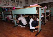 Vaslui: Elevii trimişi acasă după ce şcoala le-a fost afectată de cutremur vor fi duşi cu un microbuz închiriat la o altă şcoală