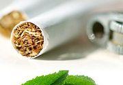 Veste proasta pentru fumatori: tigarile mentolate si cele cu capsula nu vor mai putea fi comercializate