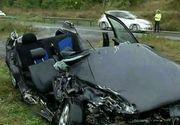 O persoana a murit iar alte patru au fost ranite intr-un grav accident rutier din judetul Sibiu