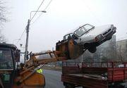 Proiect PSD: Maşinile abandonate de o lună pot fi ridicate de autorităţile locale; amenzile pentru proprietari, dublate