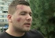 """Un barbat din Dolj, rupt in bataie de niste politisti: """"M-au tras din masina si s-au pus cu pumnii si picioarele pe mine"""""""