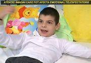 Robi, baiatul de 10 ani, care a ajuns sa se deplaseze ca o broasca dupa un tratament gresit pentru encefalita, a fost operat! Micutul va putea merge aproape ca un om normal