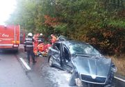 Accident rutier grav in judetul Constanta. 2 persoane au murit, o a treia este in stare grava
