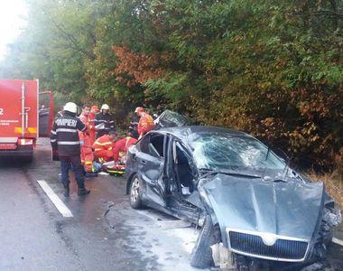 Accident rutier grav in judetul Constanta. 2 persoane au murit, o a treia este in stare...