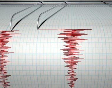 Cutremur cu magnitudinea de 5,3 pe Richter în Marea Neagră, la aproximativ 300 de...