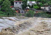 Cod galben de inundatii in sase judete din zona Moldovei. Avertizarea hidrologilor e valabila pana luni dimineata