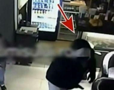 Tentativa de talharie sau inscenare? Un individ înarmat a intrat într-un bar în zorii...