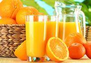 Nutritionistii mai spulbera un mit! De ce nu e bine sa bei suc de portocale dimineata