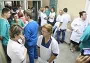Aproape 3.000 de cadre medicale din Constanţa, în grevă de avertisment; acţiuni similare şi în Buzău, Focşani şi Vaslui