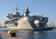 Una din cele mai importante nave americane a ajuns în Portul Constanţa