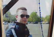 Primele imagini de la slujba de comemorare a lui Bogdan Gigina! Azi se implineste un an de la moartea politistului care deschidea coloana pentru Gabriel Oprea