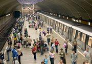 Alerta de la metrou a fost falsa! Circulatia metrourilor a fost reluata. Pirotehnistii au gasit doua sticle de suc si un sandwich in sacosa abandonata