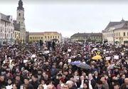 Mii de persoane au participat la o adunare publica desfasurata la Oradea pentru sustinerea familiei traditionale. Participanţii au cerut referendum pentru modificarea Constitutiei