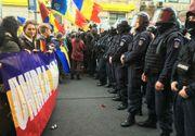 Raportul Jandarmeriei privind protestele unionistilor a ajuns la Ministerul de Interne. Jandarmii dau vina pe Primarie pentru incidente