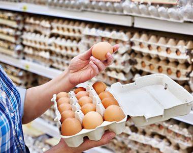 Pericol urias pentru sanatate. Pe piata din Romania au fost descoperite oua cu salmonella
