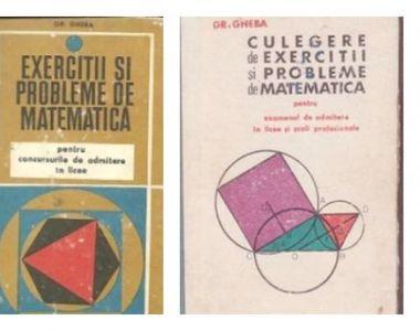 Povestea lui Grigore Gheba, autorul culegerilor de matematica care au dat batai de cap...