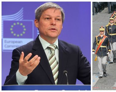 "Dacian Ciolos: ""Armata a ramas un etalon al increderii pentru romani (...) Onor..."