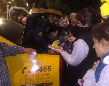 30.000 de credincioşi, la moaştele Sf. Dumitru în Dealul Patriarhiei. Un taximetrist a...