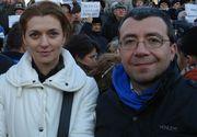 Fosti iubiti, Alina Gorghiu si Mihai Voicu s-au casatorit la cateva luni distanta! Sefa PNL l-a ales pe Lucian Isar, in timp ce Voicu s-a insurat cu o colega de partid