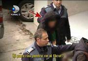 Barbatul care a incendiat doi oameni ai strazii din Galati a fost arestat preventiv. Politia a gasit insemne SATANISTE in fosta locuinta a barbatului