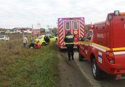 Accident cu trei victime la Brasov. Printre raniti se afla si o femeie insarcinata