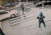 Accident cumplit in Vaslui! O adolescenta a fost spulberata pe trecerea de pietoni de un sofer grabit! Tanara a scapat doar cu cateva rani la un picior