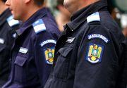 Trei jandarmi au fost raniti intr-un accident in judetul Vaslui. Oamenii s-au rasturnat cu masina