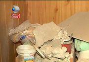 Sapte persoane au ajuns la spital, dupa ce o bucata din tavanul unui camin de batrani s-a prabusit. Imaginile dezastrului arata cat de grav a fost