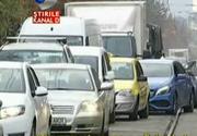 Un targ organizat in Bucuresti a paralizat traficul in nordul Capitalei - Politistii abia au facut fata