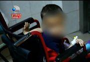 Un baietel din Iasi a ajuns in ultimul hal din cauza parintilor. Are 6 ani si doar 12 kilograme. Uite cat de rau poate sa arate baietelul