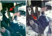 E incredibil până unde ajunge tupeul hoţilor! Patronul unui restaurant a facut publice cateva imagini socante. Ce au surprins camerele de supraveghere