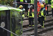Cinci persoane au murit dupa ce un tramvai a deraiat in sudul Londrei