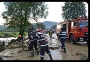 Cod galben de inundatii in trei judete din Romania. Atentionarea este valabila pana maine la pranz.