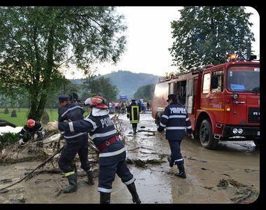 Cod galben de inundatii in trei judete din Romania. Atentionarea este valabila pana...