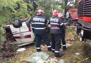 6 răniţi în urma unui accident pe Centura Capitalei în care au fost implicate 2 tiruri; 2 răniţi duşi la spital