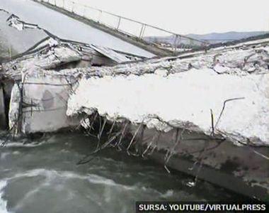 De teama sa nu li se mai prabuseasca podul, localnicii din Bretea Romana au chemat...