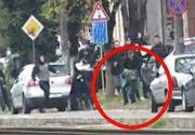 Imagini sangeroase de la lupta de strada dintre huliganii din Arad si Timisoara. Un tanar a fost la un pas de moarte
