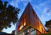 Arhitectul Sorin Magda, din Alba Iulia, a construit cea mai frumoasa casa din Transilvania. Este in forma de triunghi, iar intregul proiect a costat un milion de euro