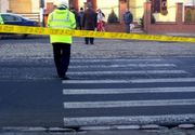 VIDEO: Un elev a fost lovit in plin pe trecerea de pietoni de catre o soferita