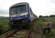 Patru vagoane ale unui tren de marfa incarcat cu azotat de amoniu au deraiat in Harghita