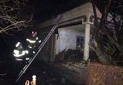 Olt: O femeie a fost gasita moarta, dupa ce locuinta acesteia a luat foc de la jarul din soba