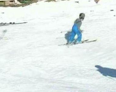 E iarna in toata regula. In Maramures s-a dechis prima partie de schi, iar la Cluj...